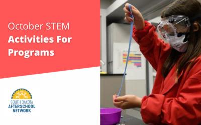 October STEM Activities For Programs