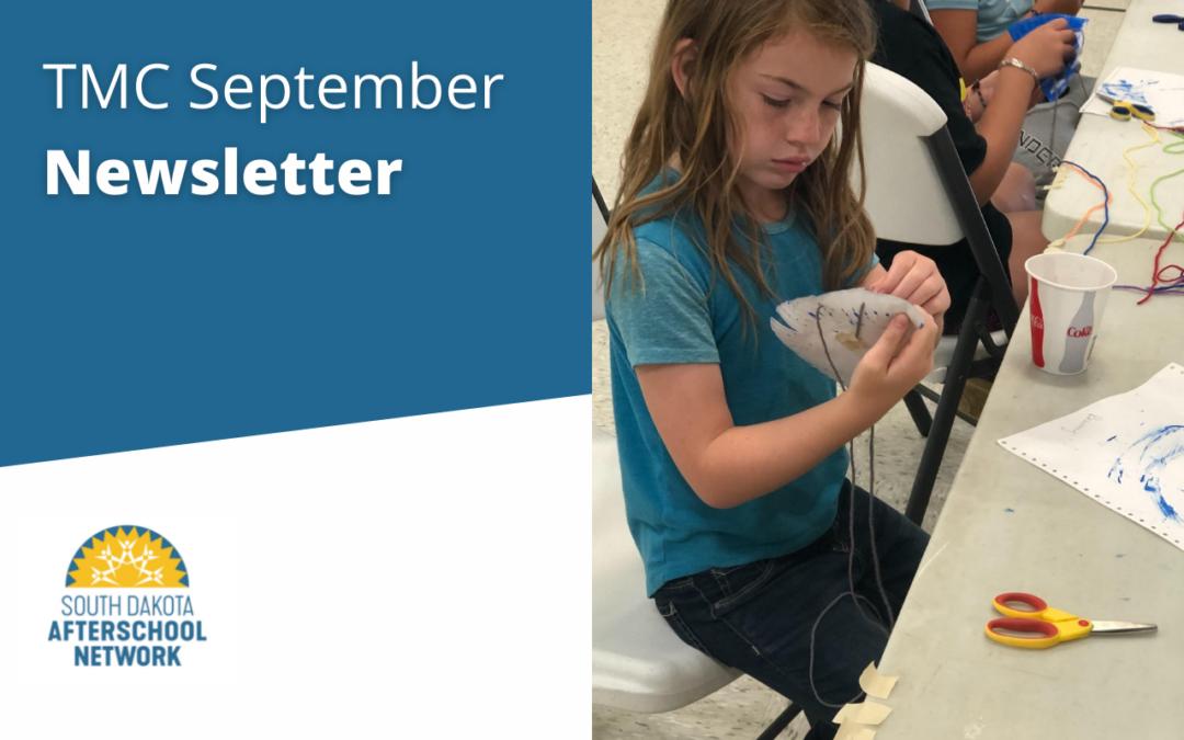 TMC September Newsletter