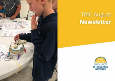 TMC August Newsletter